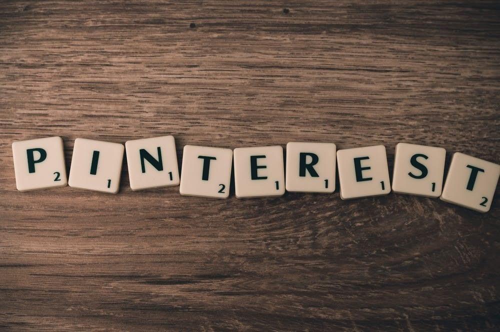 Pinterest letters