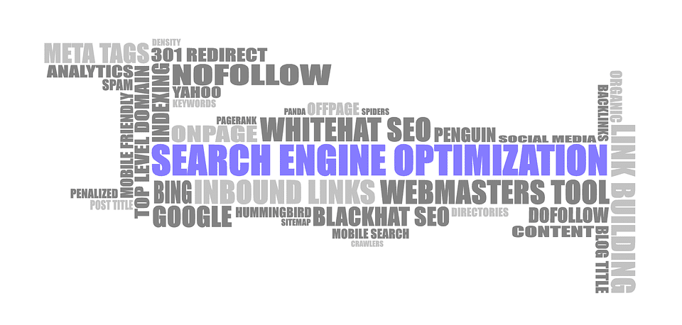 terms related to search engine optimisation